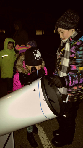 Nighttime Observing and Outreach is for all ages and genders.