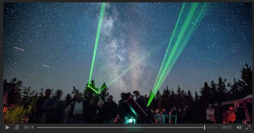 A time lapse of the Fundy Park StarGaze 2017 from the Fundy Facebook Page.
