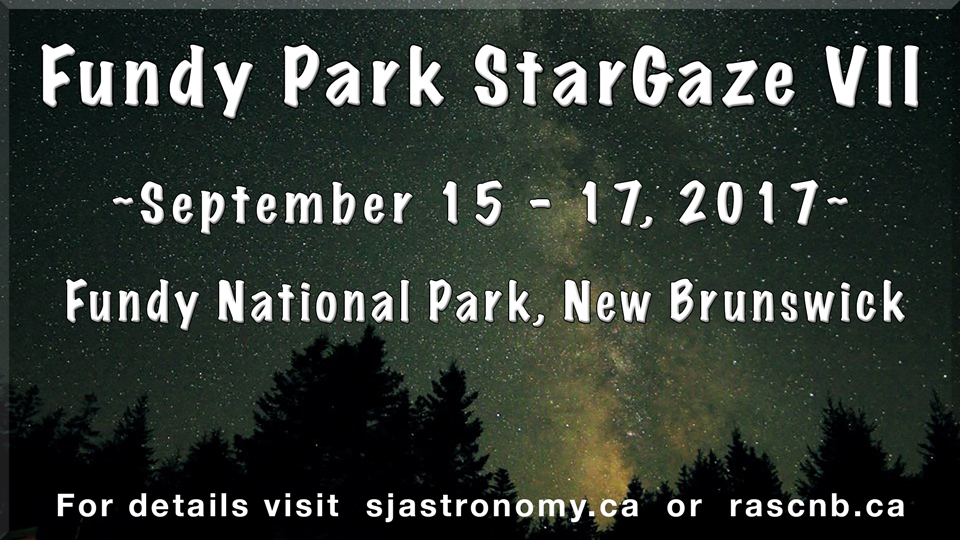 Photo of the Fundy Park StarGaze VII for 2017