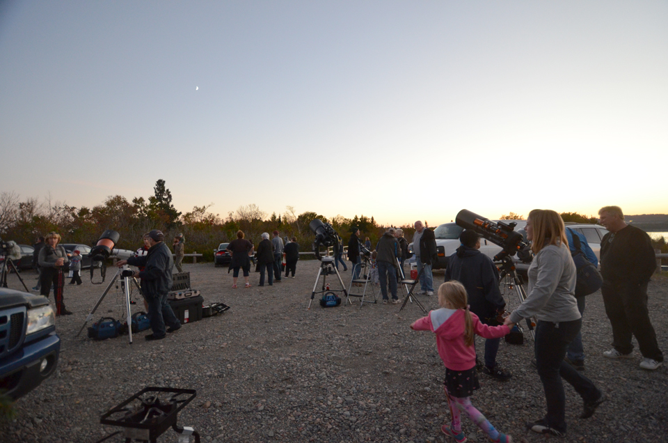 Public Nighttime Observing in Irving Nature Park presented by RASC.NB and the SJAC.