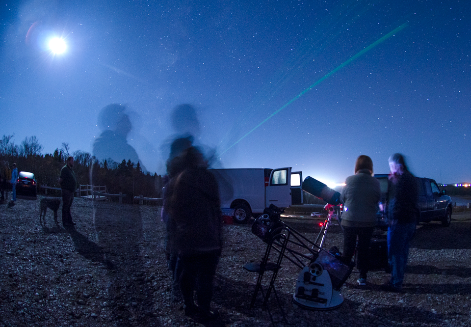 Photo of scene at Observe the Moon night at Irving Nature Park