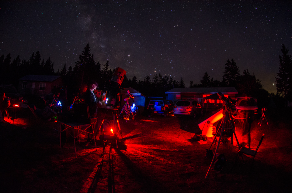 Photo of Star Party at Fundy National Park.