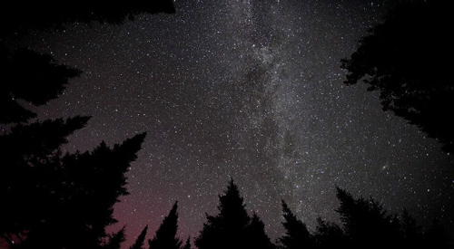 View at one of the Star Parties in New Brunswick at Mount Carleton Provincial Park