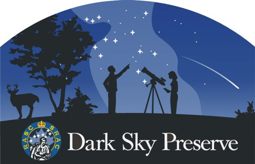 Logo of the RASC Dark Sky Preserve.