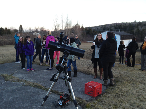 Spring 2017 Outreach Event by the Saint John Astronomy Club