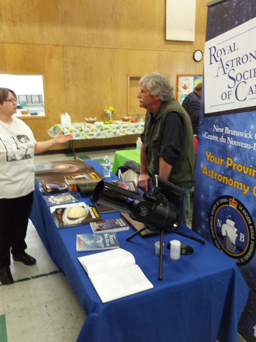 Indoor Outreach Event by RASC.NB