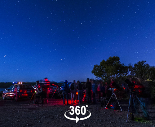 A 360 pano of the National Star Party at Irving Nature Park celebrating Canada's Sesquicentennial in July of 2017.