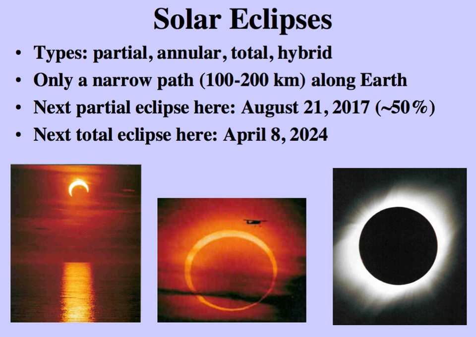 Photo linking to a short pdf by Curt Nason about solar eclipses.