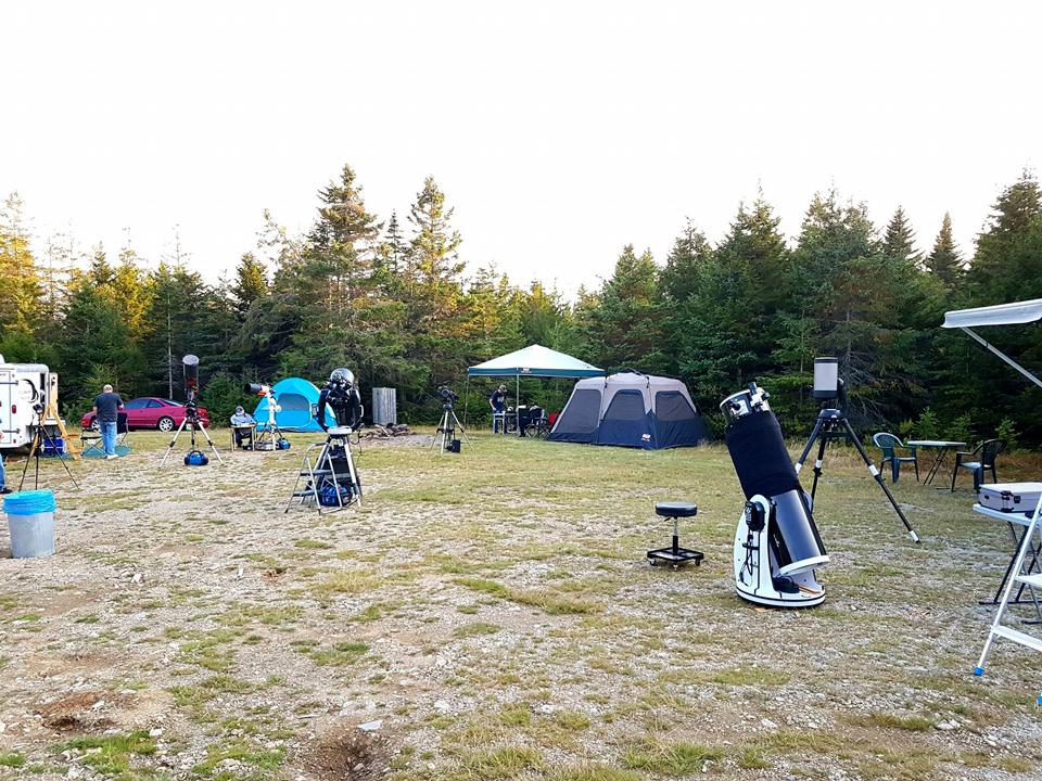 Photo of the Fundy Park StarGaze 2017