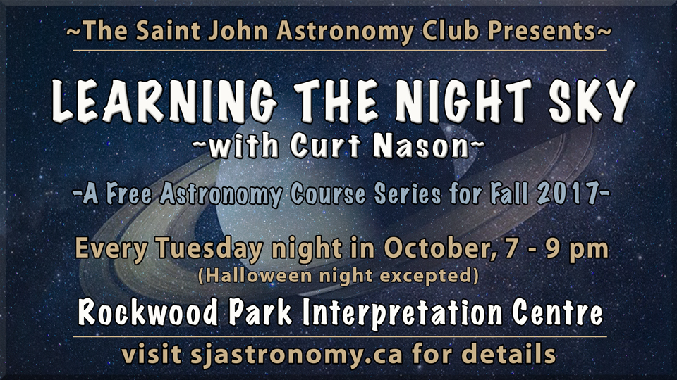 Header photo for the Learning the Night Sky Astronomy Course by Curt Nason.