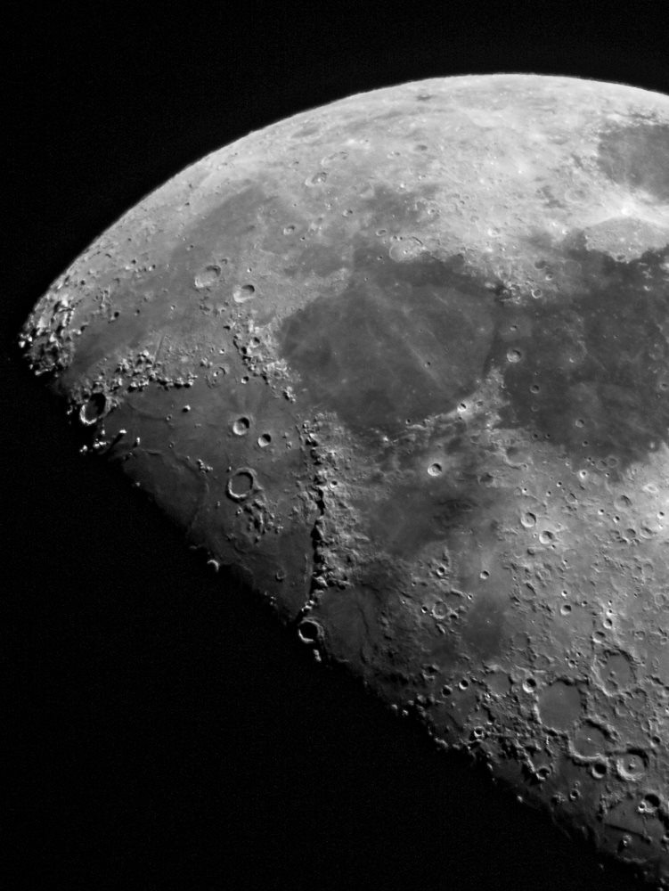 Photo of the Moon by Paul Owen.