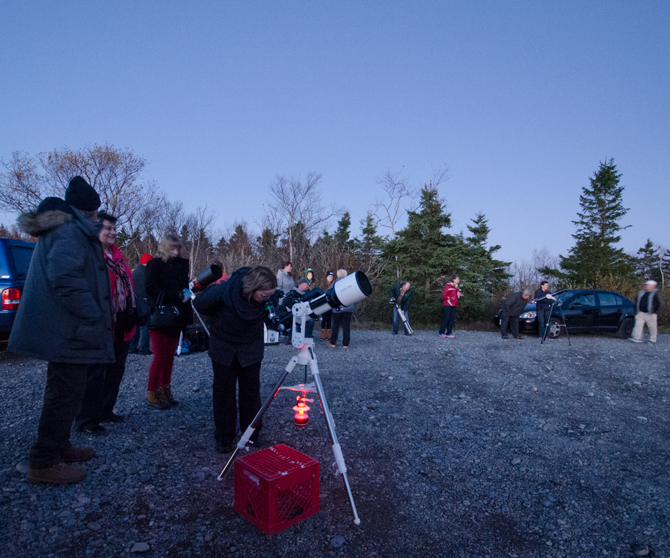 Observe the Moon Night 2017 at Irving Nature Park.