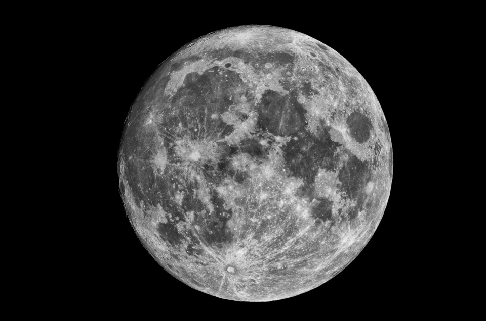 Photo of the Wolf Moon by Jim Stewart