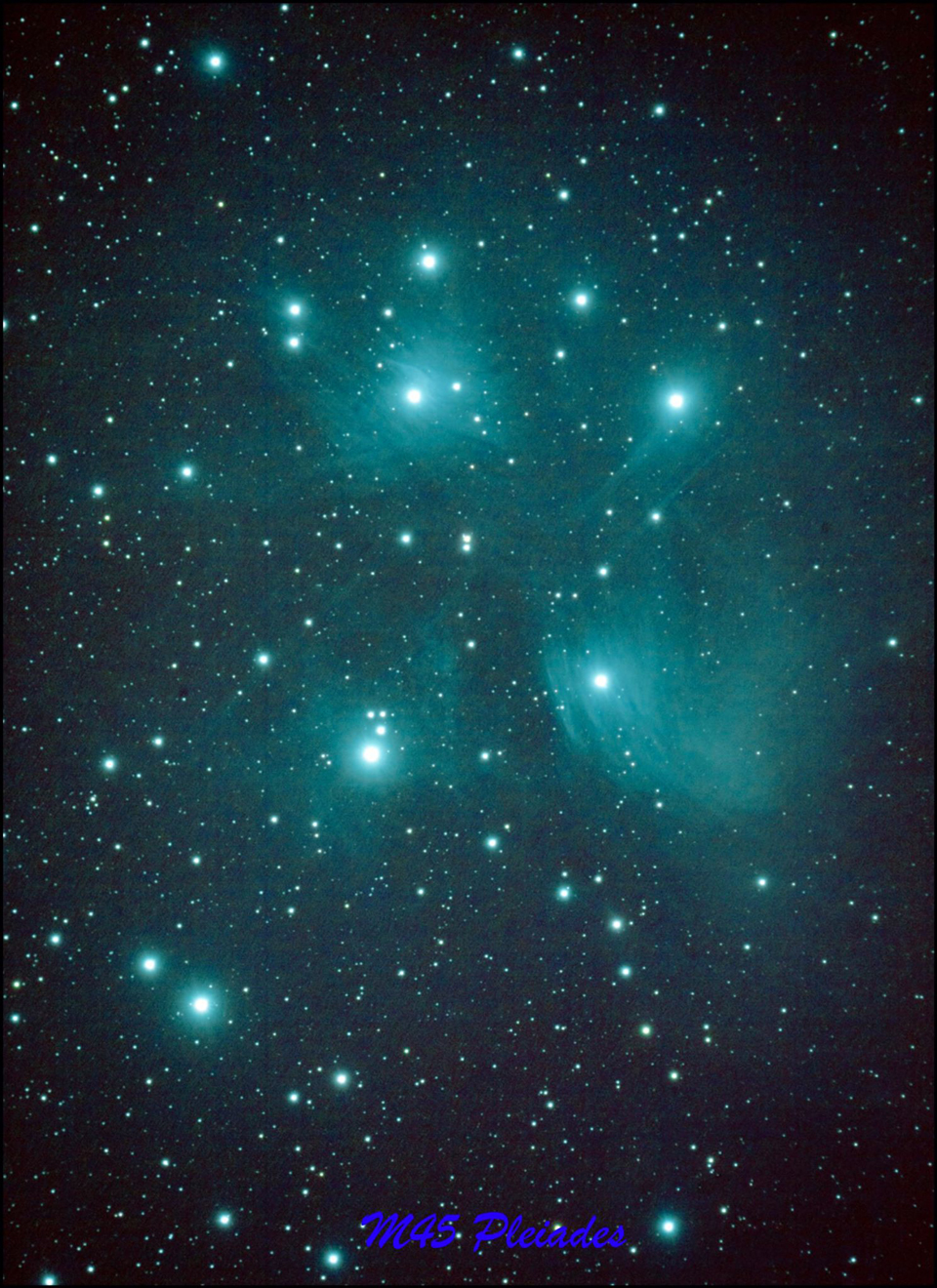 Photo of M45 The Pleiades by Paul Owen