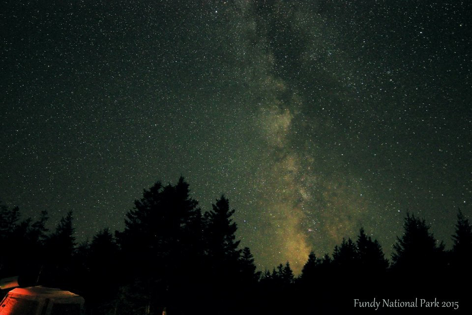 Photo by Paul Owen of the Milky Way in Mt Carleton