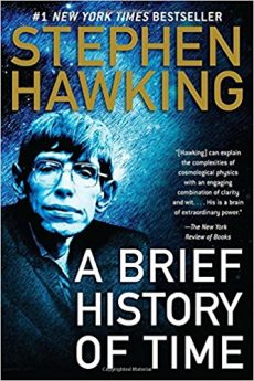 Photo cover Stephen Hawking A Brief History of Time