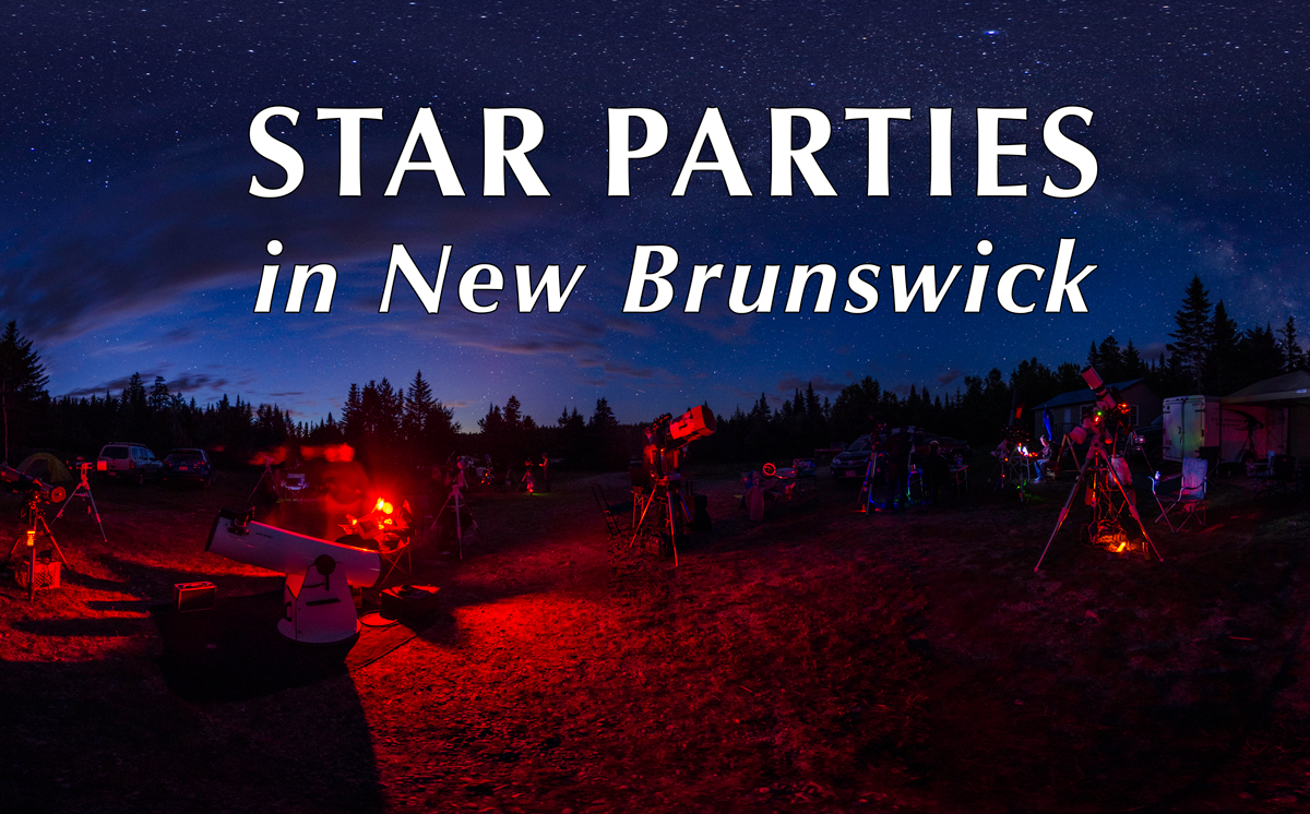 Link to the New Brunswick Star Parties Pages