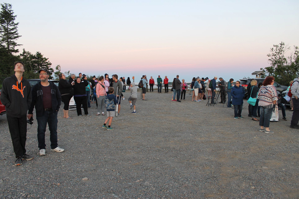 Photo of Planets on Parade RASC NB & SJAC Outreach event at Irving Nature Park July 20 2018.