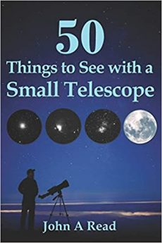 Amazon link to John Read's 50 Things to See with a Small Telescope.