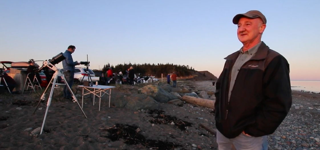 Short YouTube video filmed in the Maritimes by Jenna Hinds and John Read of the RASC