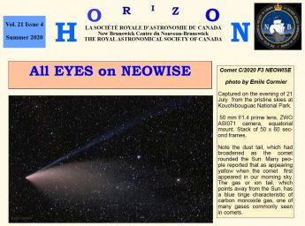 Link to the RASC NB Horizon Summer 2020 Newsletter