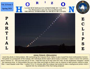 Link to the RASC NB Horizon Spring 2021 Newsletter.